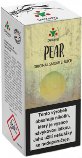 Liquid Dekang Pear 10ml - 6mg (Hruška)