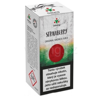 Liquid Dekang Strawberry 10ml - 6mg (Jahoda)