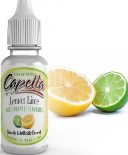 Příchuť Capella - Citron a limetka / Lemon Lime 13ml