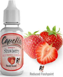 Příchuť Capella - Jahoda / Sweet Strawberry Rf 13ml