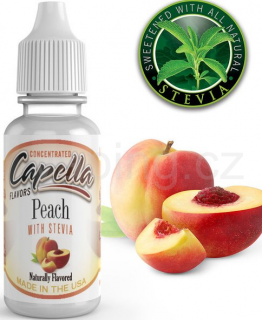 Příchuť Capella - Broskev / Peach 13ml