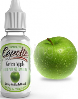 Příchuť Capella - Zelené jablko / Green Apple 13ml