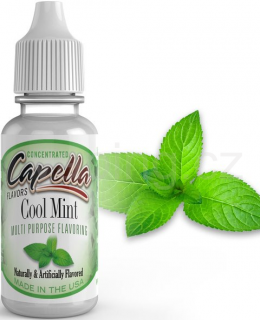 Příchuť Capella - Ledová máta / Cool Mint 13ml