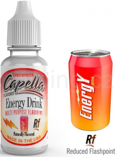 Příchuť Capella - Energy / Energy Drink Rf 13ml