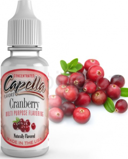Příchuť Capella - Brusinka / Cranberry 13ml