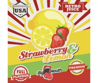 Big Mouth Retro Jahoda a citron (Strawberry & Lemon) 10ml