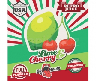 Big Mouth Retro Limetka a třešeň (Lime & Cherry) 10ml