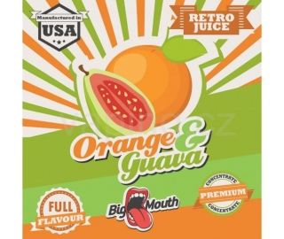 Big Mouth Retro Pomeranč a guava (Orange & Guava) 10ml