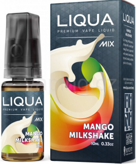 LIQUA MIX Mango Milkshake 10ml - 0mg