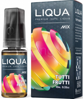 LIQUA MIX Tutti Frutti 10ml - 0mg
