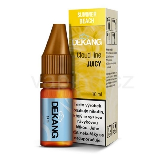 Dekang Cloud Line Summer Beach (Ovocná směs) 10ml 1,5mg