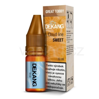 Dekang Cloud Line Great Tobby (Tabák s ořechy) 10ml 3mg