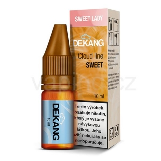 Dekang Cloud Line Sweet Lady (Borůvka s broskví) 10ml 3mg