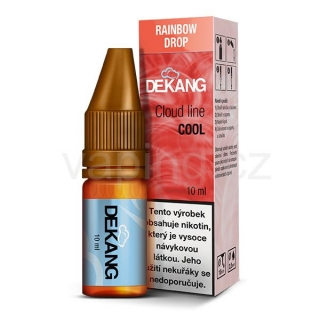 Dekang Cloud Line Rainbow Drop (Jahodový koktejl) 10ml 1,5mg