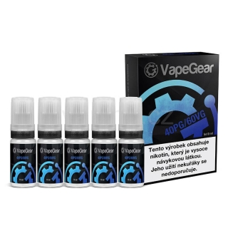 VapeGear booster (40PG/60VG) 20mg 5x10ml