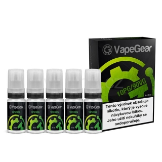 VapeGear booster (10PG/90VG) 20mg 5x10ml