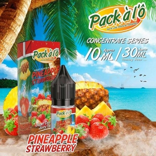 Pack ALO příchuť Pineapple Strawberry (Ananas s jahodami) 10ml