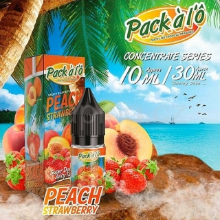 Pack ALO příchuť Peach Strawberry (Broskev s jahodami) 10ml