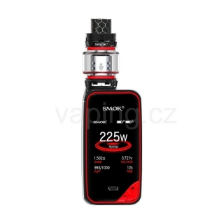 SMOK X-Priv elektronický grip Kit s TFV12 Prince  (Black Red)