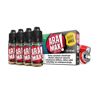 Aramax E-liquid 4x10ml (Max Drink) 3mg