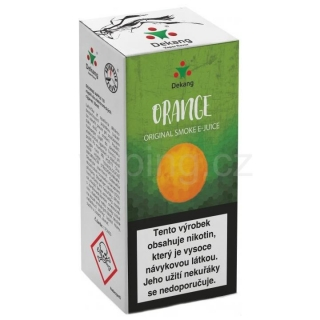 Liquid Dekang Orange 10ml - 6mg (Pomeranč)