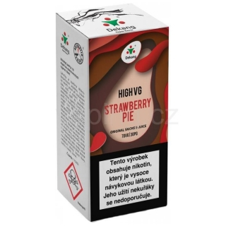 Dekang High VG Strawberry Pie 10ml (Jahodový koláč) 1,5mg
