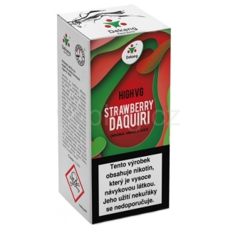 Dekang High VG Strawberry Daquiri 10ml (Jahodový koktejl) 1,5mg