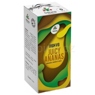 Dekang High VG Juicy Ananas 10ml (Šťavnatý ananas) 0mg