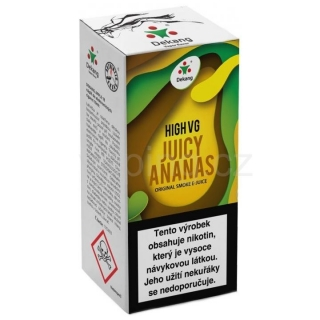 Dekang High VG Juicy Ananas 10ml (Šťavnatý ananas) 1,5mg