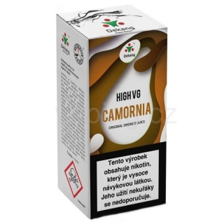 Dekang High VG Camornia 10ml (Tabák s ořechy) 1,5mg