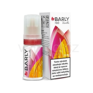 Barly RED Vanilla 10ml - 5mg