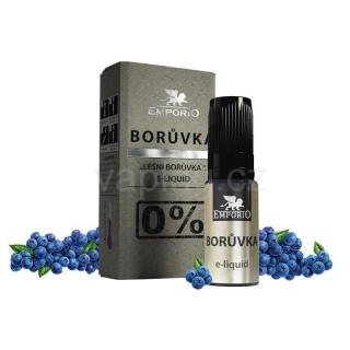 Emporio Borůvka 10ml 0mg