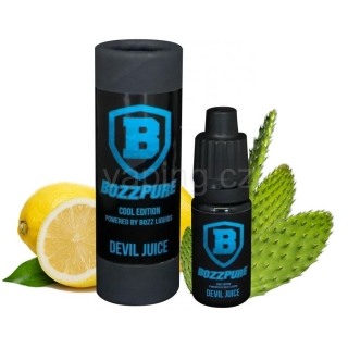 Bozz Pure Cool Edition příchuť Devil Juice 10ml