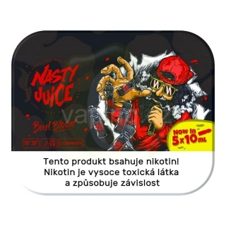 Nasty Juice Bad Blood (cool rybíz) 5x10ml 3mg
