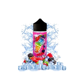 UAHU Shake & Vape příchuť ICE Berry Ball (Ledový bobulovitý mix) 15ml