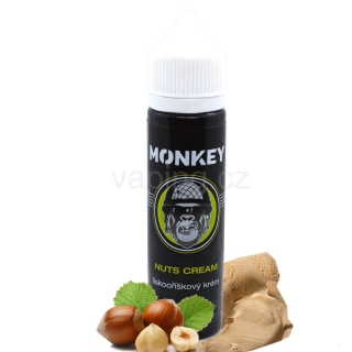 Monkey aroma Nuts Cream (Lískooříškový krém) 12ml