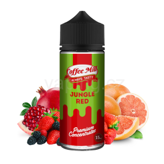 Coffee Mill Shake & Vape Aroma Jungle Red (Tropický mix) 15ml