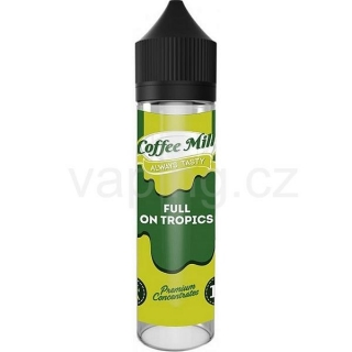 Coffee Mill Shake & Vape Aroma Full On Tropics (Tropický svěží koktejl) 10ml