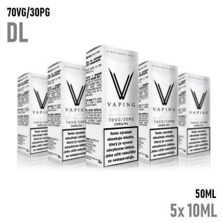 Vaping nikotinový booster DL 5X10ML (70VG/30PG) 20mg