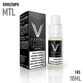 Vaping nikotinový booster MTL 1x10ml (50VG/50PG) 20mg