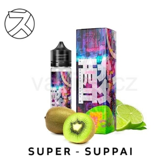DIFFER Super Suppai příchuť KIWI & LIME (kiwi a limetka) 18ml