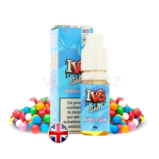 E-liquid Salt IVG s příchutí BUBBLE GUM (chladivé žvýkačky) 10ml 20mg
