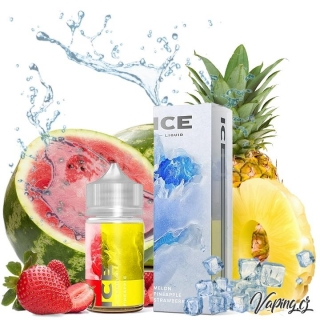 DIFFER ICE aroma s příchutí MELON, PINEAPPLE, STRAWBERRY (meloun, ananas, jahoda) 24ml/80ml