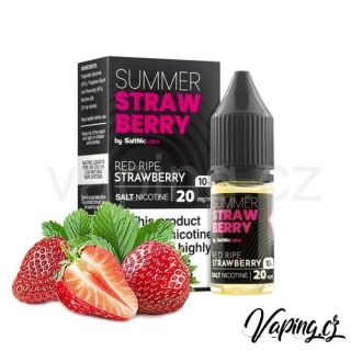 VGOD salt e-liquid Summer Strawberry (šťavnaté jahody) 20mg 10ml