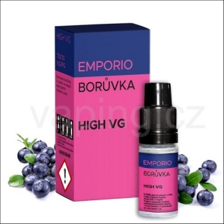 Emporio Borůvka 70/30 0mg 10ml