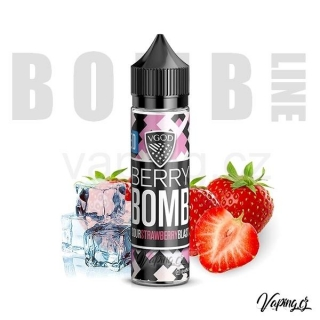 Příchuť VGOD Bomb (Strawberry Iced) 20ml