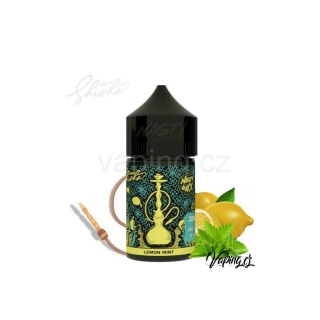 Nasty Juice SHISHA aroma Lemon Mint (tabák s citrónem a mátou) 60/20ml