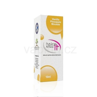 Take It e-liquid Vanilla Pinneapple Mousse 10ml (Vanilka a ananas) 18mg