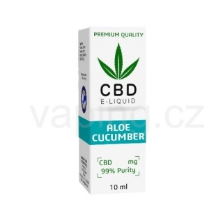 E-liquid Expran CBD, příchuť ALOE CUCUMBER 600mg (6%) 10ml