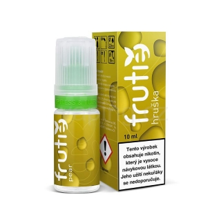 Frutie 70/30 Hruška (Pear) 10ml 5mg